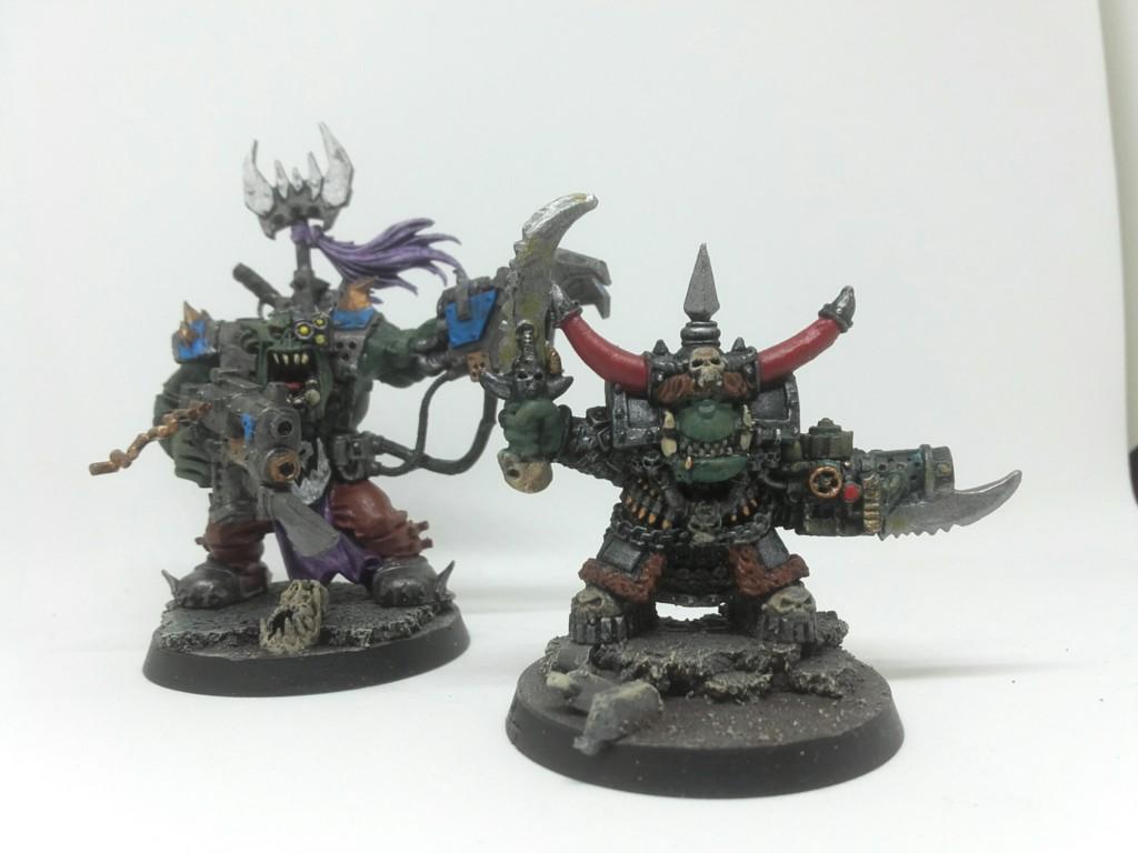 Original Ghazghkull Thraka and Black Reach warboss