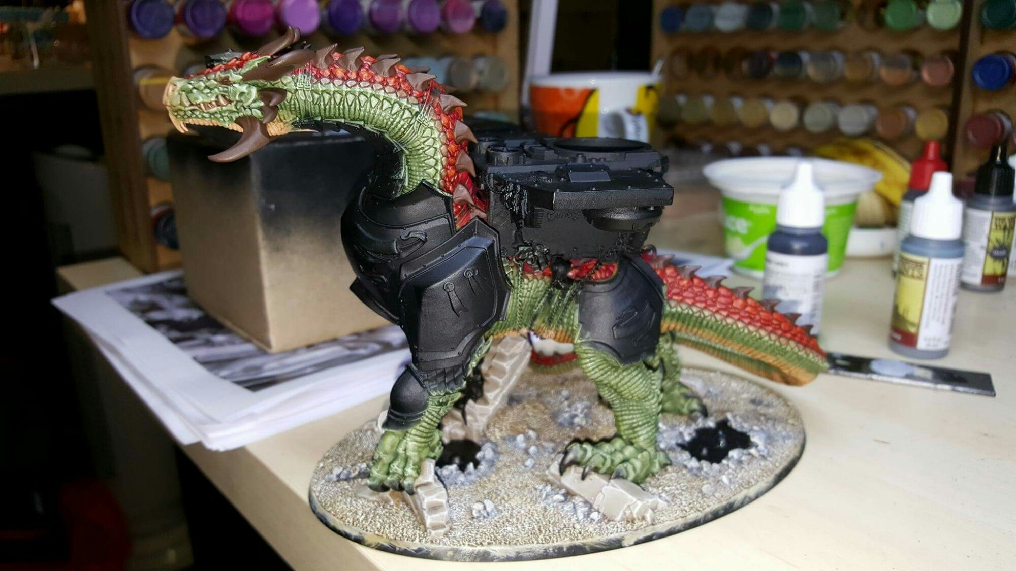 Imperial Knight dragon conversion