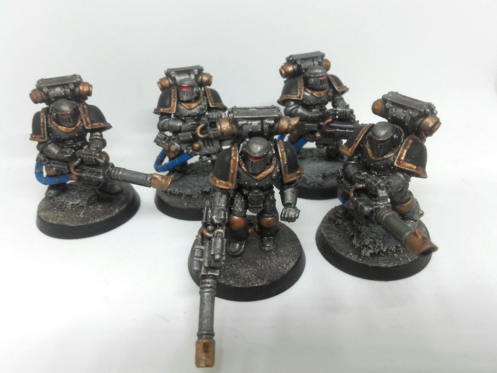 Iron havocs with lascannons