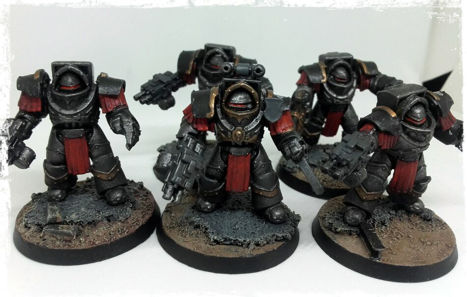 Iron Warriors - cataphractii terminators
