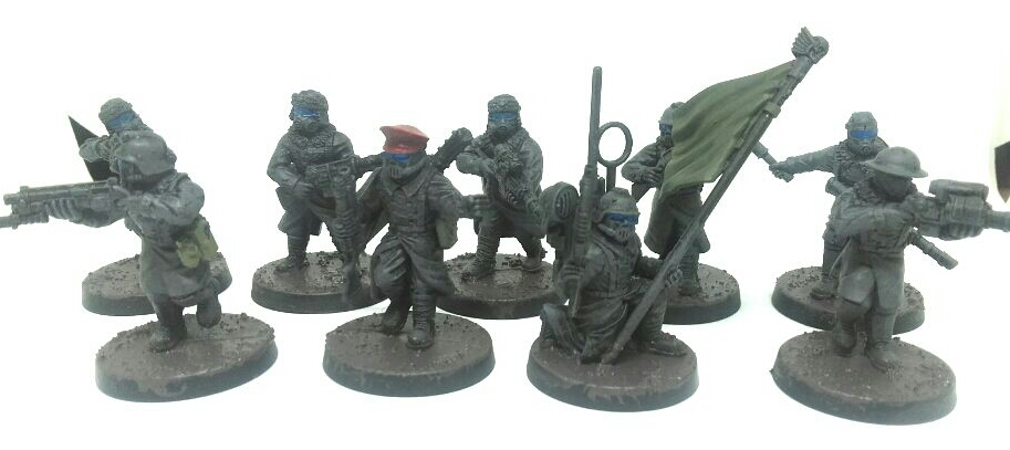 Anvil Industries trench fighters kill team