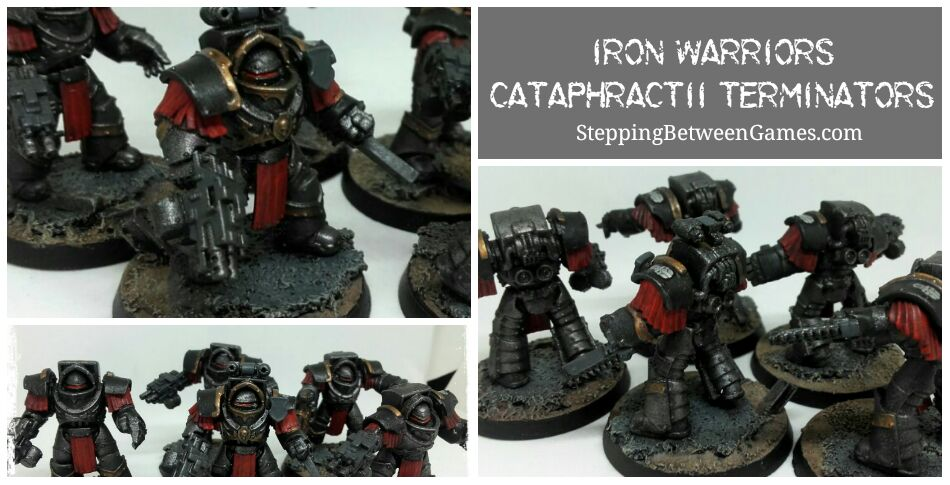 Header collage Iron Warriors - cataphractii terminators