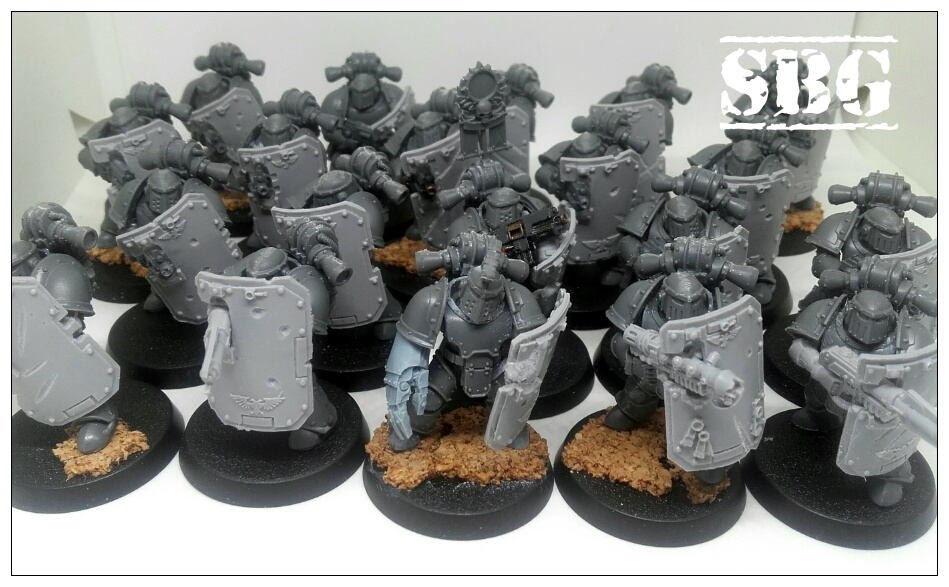 Iron Warriors Mk III breachers