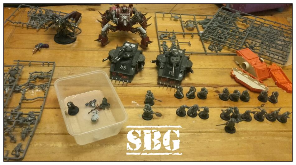 Thousand Sons 8th edition build