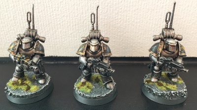 Burning of Prospero tacticals paint voxs Iron Warriors