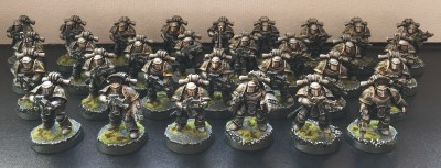 iron warriors tactical marines