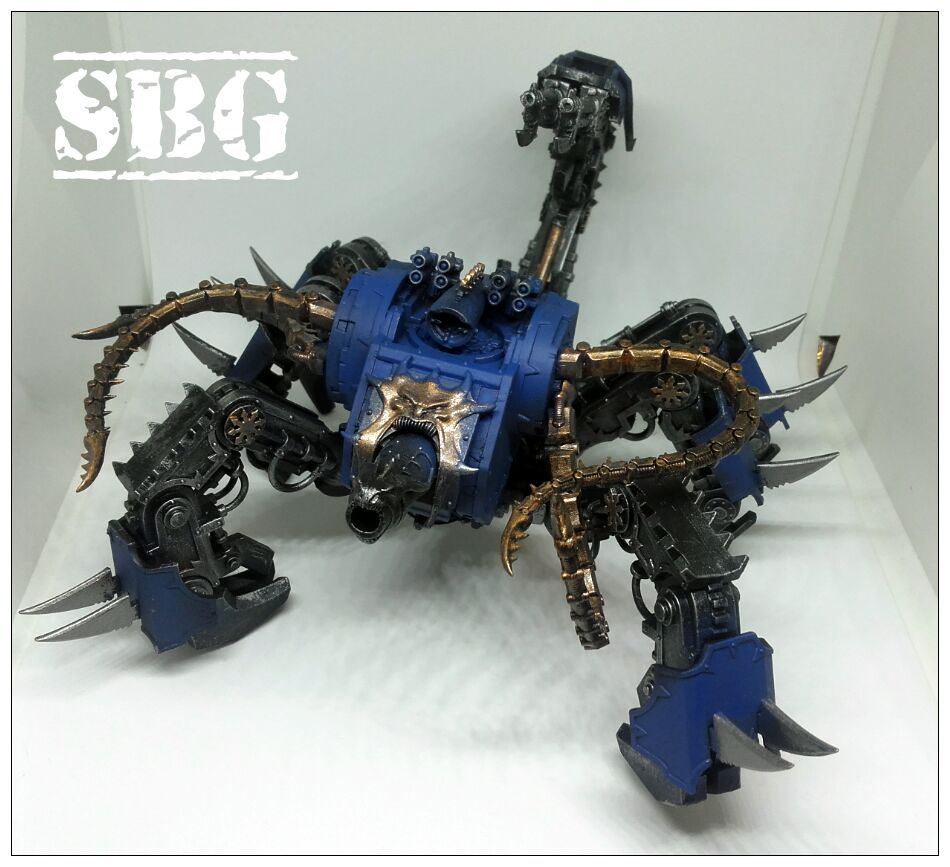Thousand Sons Defiler Scorpion Conversion