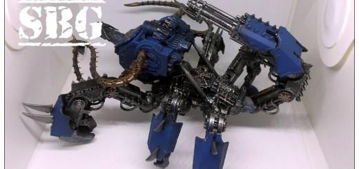 Thousand Sons Defiler Scorpion Conversion work in progress