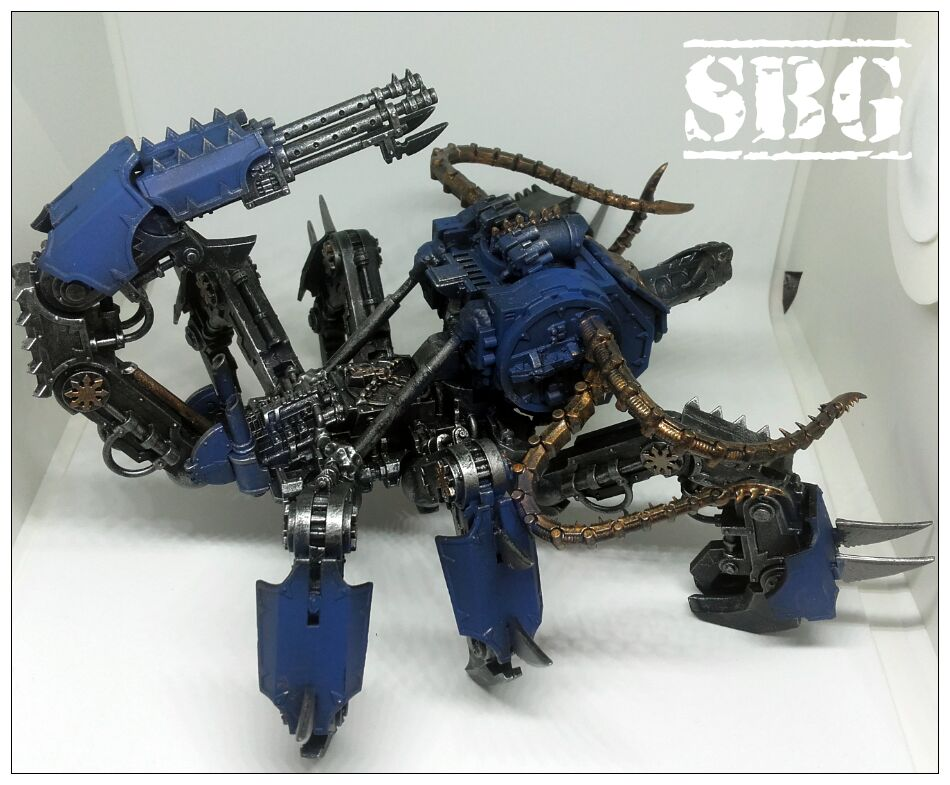 Thousand Sons Defiler Scorpion Conversion 3