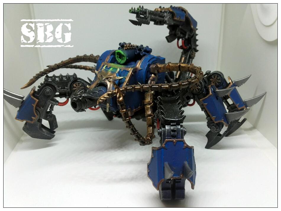 Thousand Sons Defiler Scorpion
