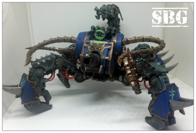 Thousand Sons Defiler Scorpion Conversion