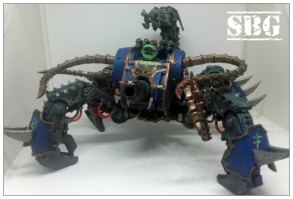 Defiler scorpion conversion - Thousand Sons