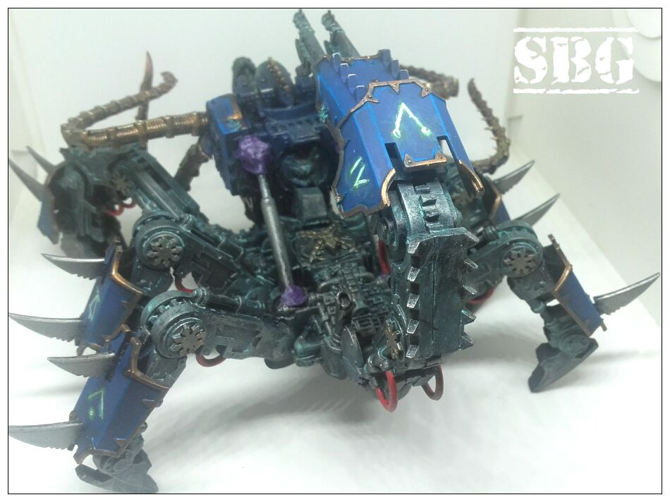 Defiler scorpion conversion - Thousand Sons 3