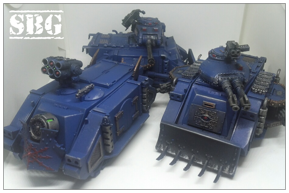 Thousand Sons Predators and Rhino