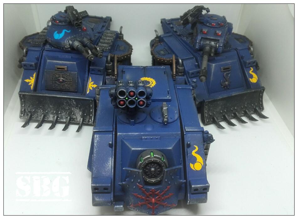 Thousand Sons Tanks