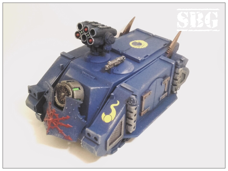 Thousand Sons tanks - Rhino