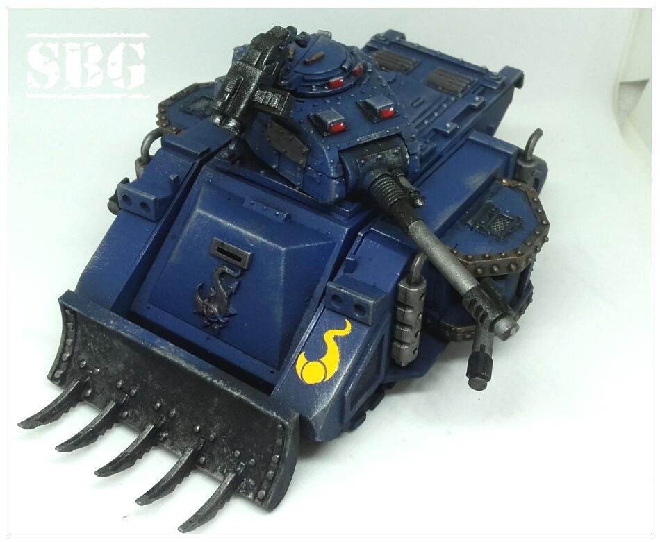 Thousand Sons tanks - predator