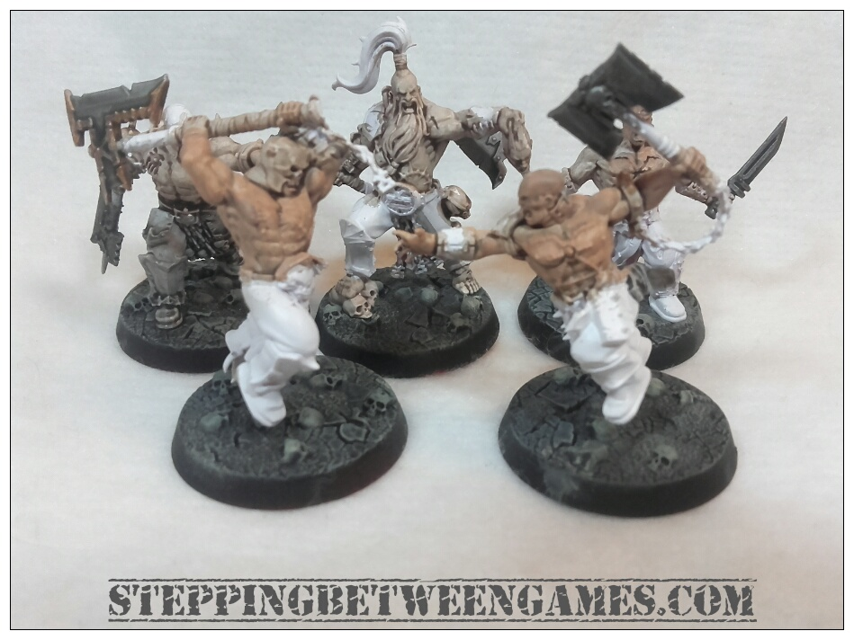 Shadespire miniatures bloodreavers