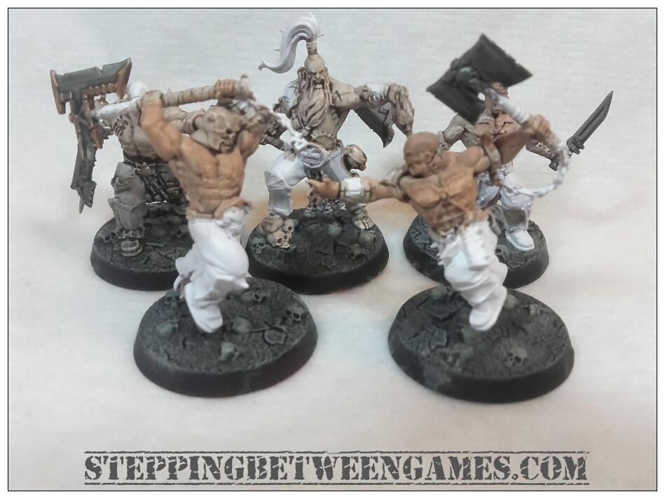 Shadespire miniatures bloodreavers