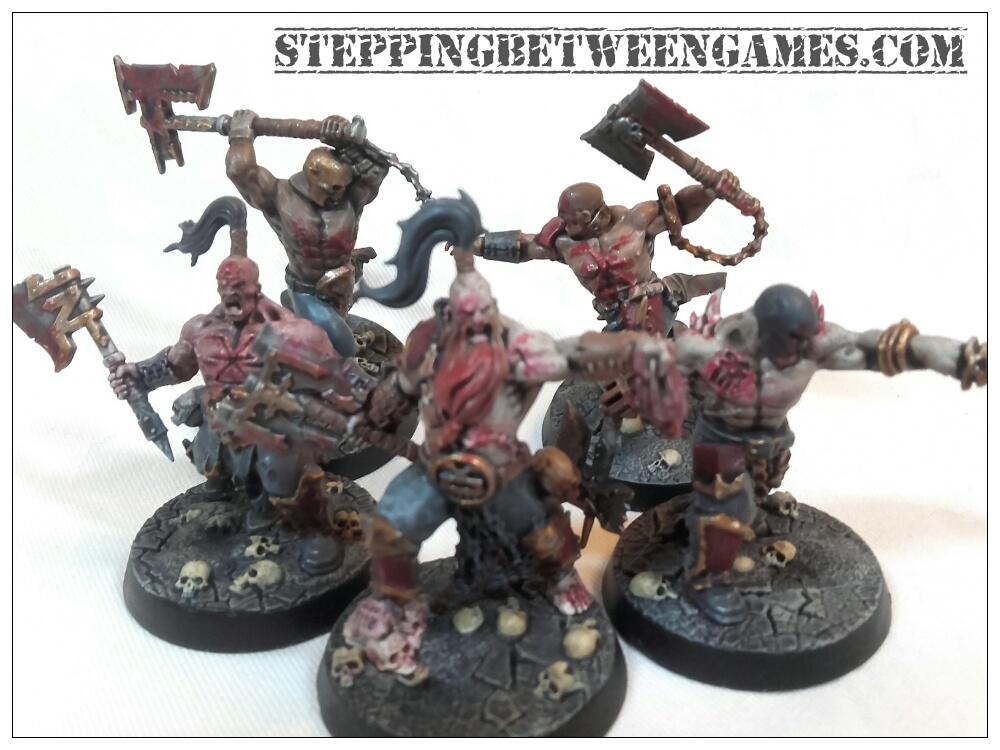 Warhammer Underworlds: Shadespire Khorne 1