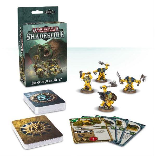 Warhammer Shadespire orcs ironskulls boyz