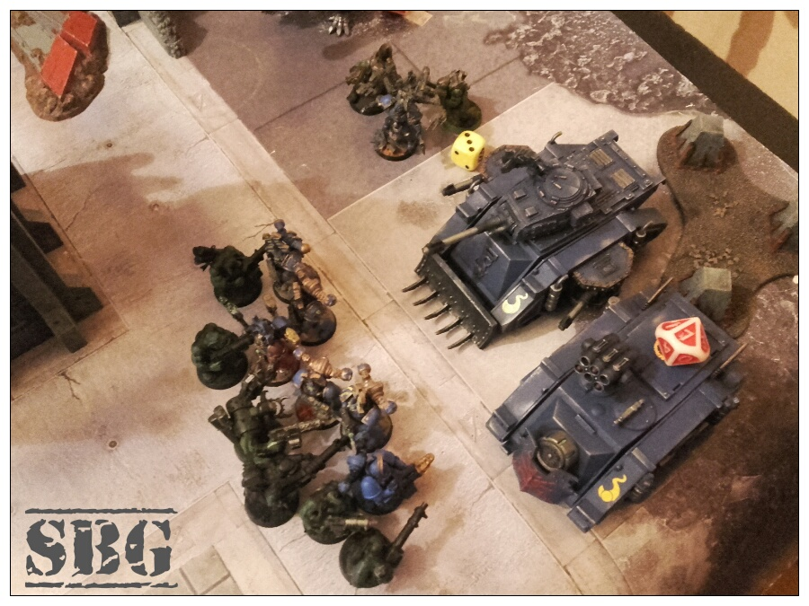 8th edition thousand sons battle report 5