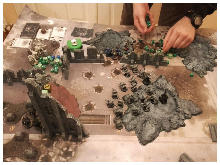 8th edition thousand sons battle report 8