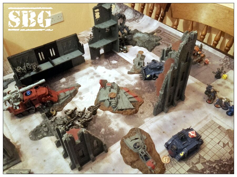 8th edition thousand sons battle report 9