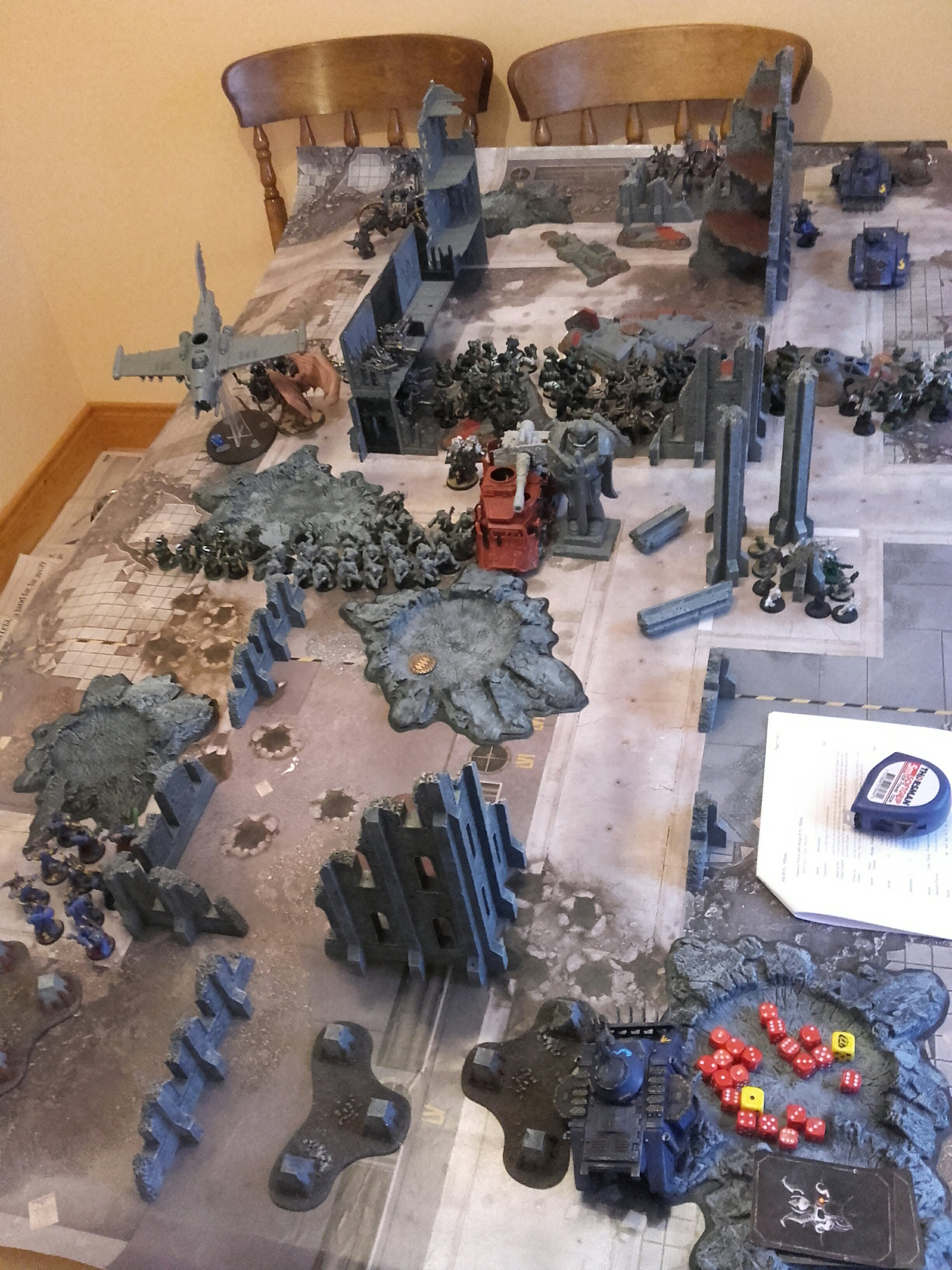 8th edition thousand sons battle report 2