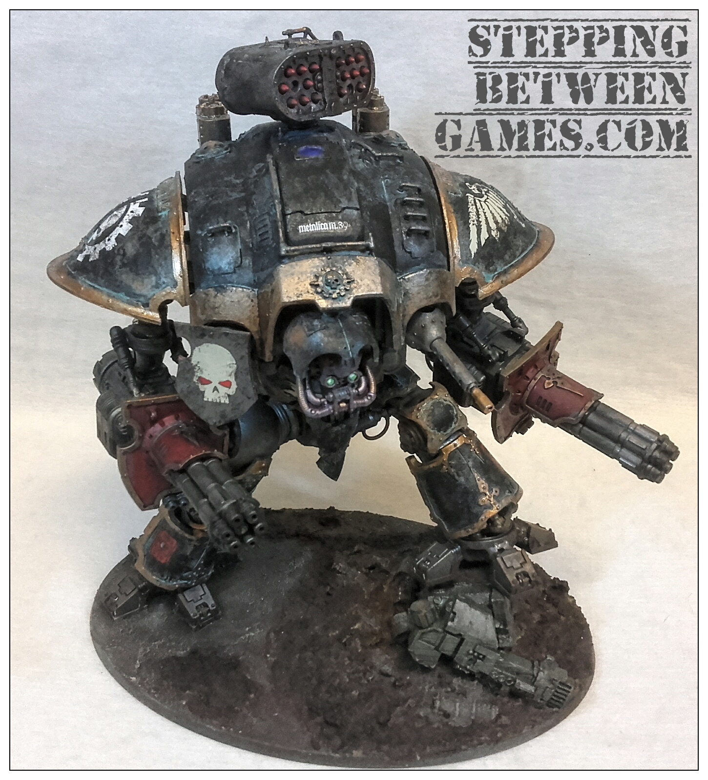 Renegade Knight twin avenger gatling cannons 01