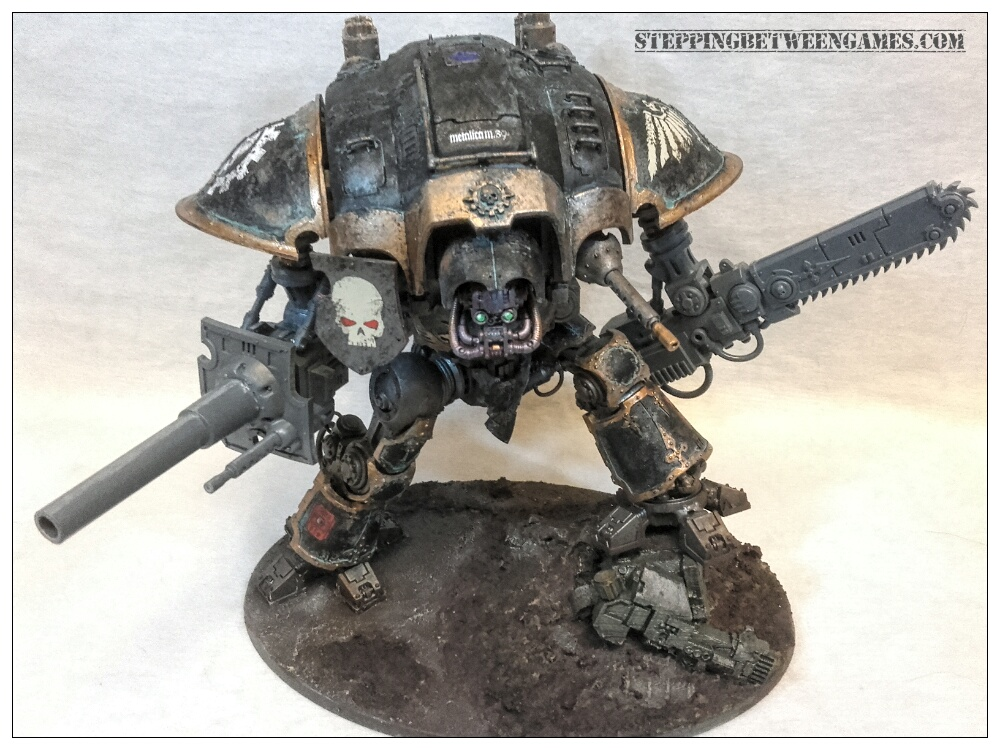 Battle cannon and reaper chainsword renegade knight 07