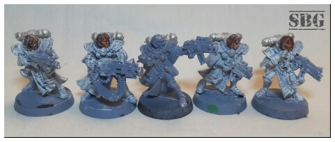 Sisters of Battle - Squaduary