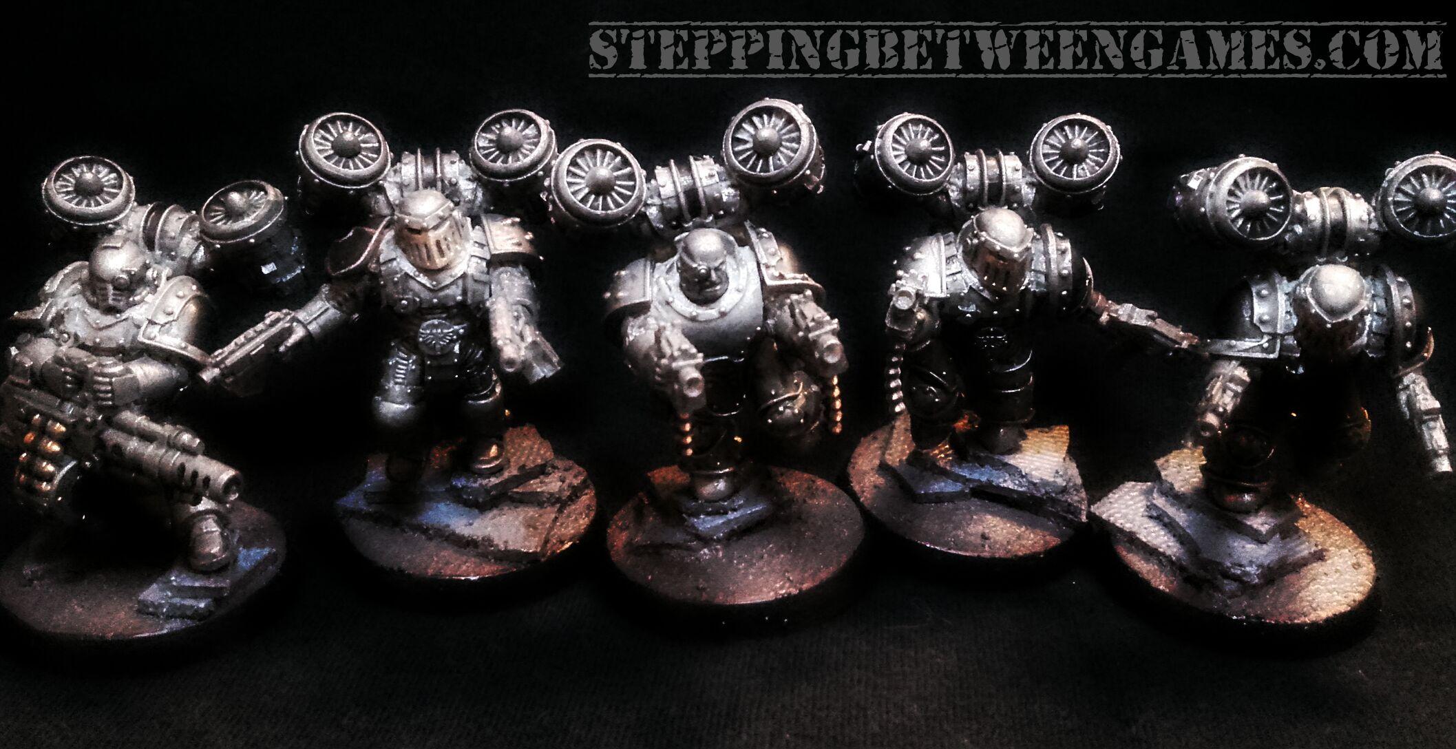 Iron Warriors Horus Heresy Destoryers WiP