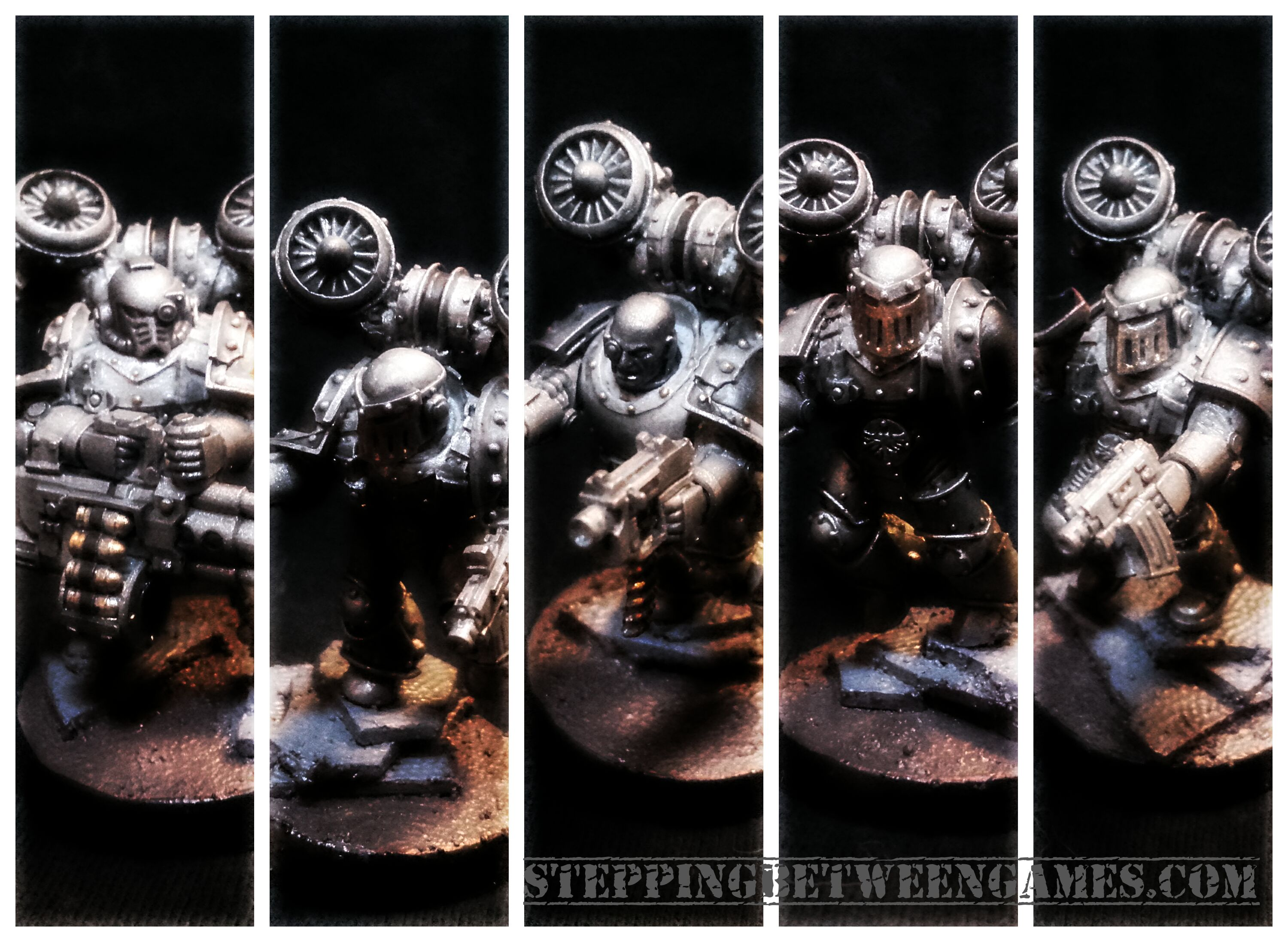 Iron Warriors Horus Heresy Destoryers WiP 2