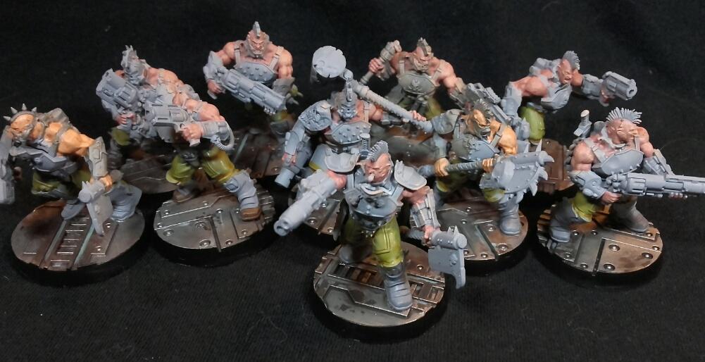 Necromunda goliath gang full