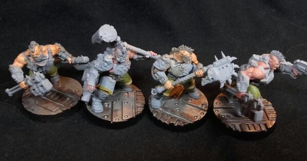 Necromunda goliath gang melee wip