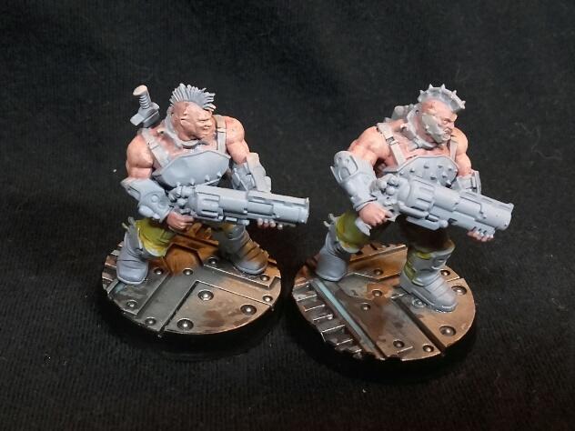 Necromunda goliath gang shotguns
