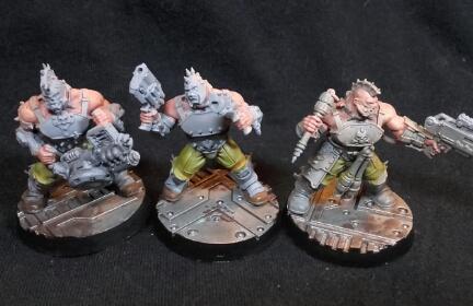 Necromunda goliath gang wip 1
