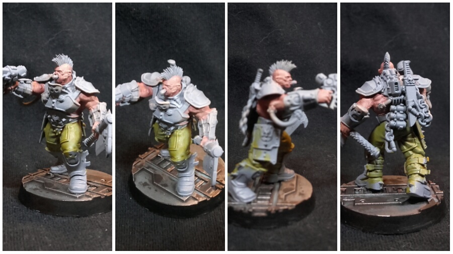 Necromunda goliath gang leader