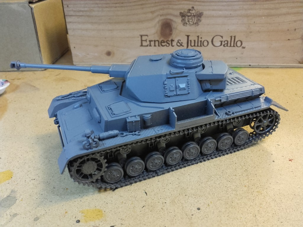 Panzer Mark IV 1:72 Scale - side