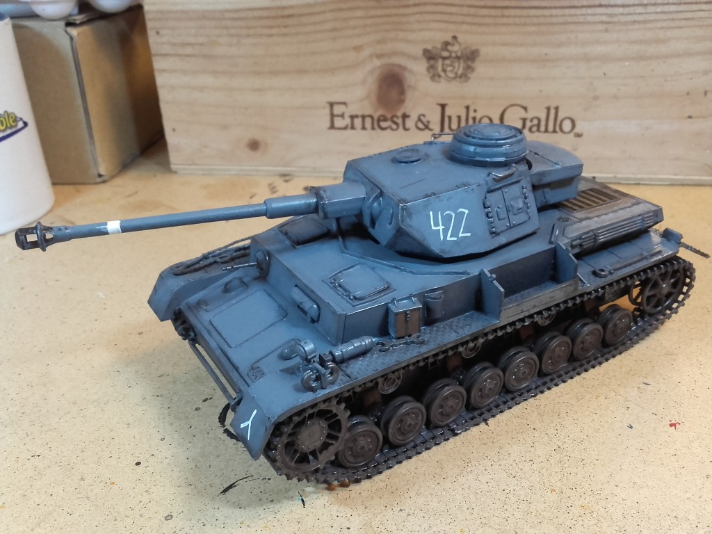 Panzer Mark IV 1:72 Scale - front side