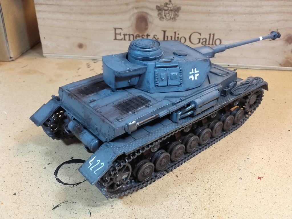 Panzer Mark IV 1:72 Scale - rear