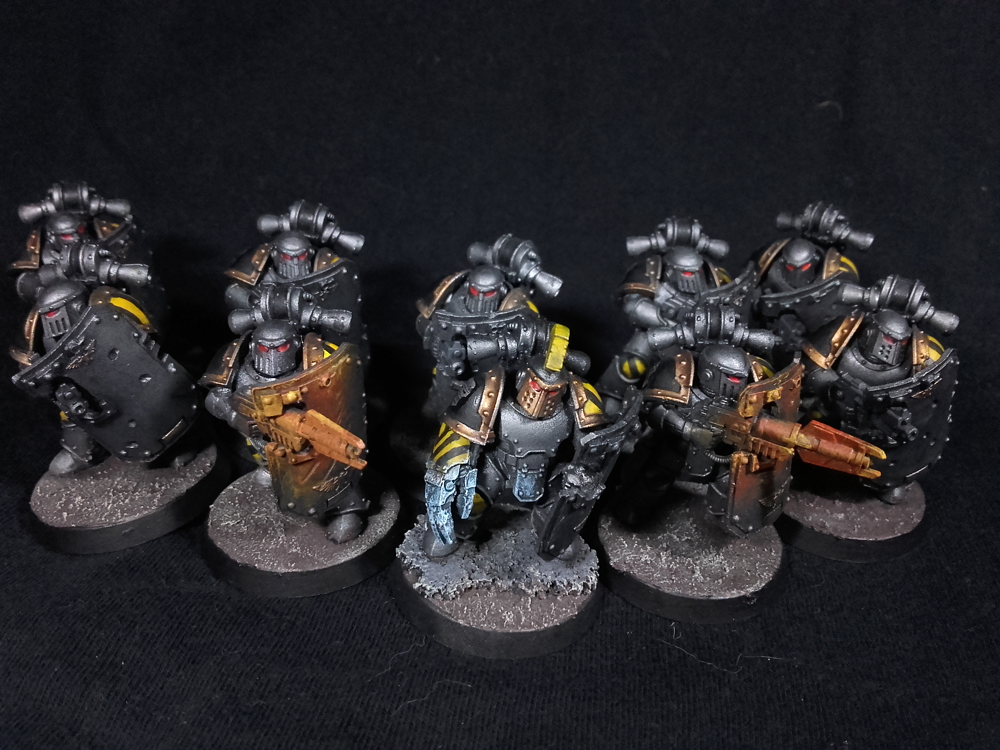 Iron Warriors Breachers from 30K - Squad 1