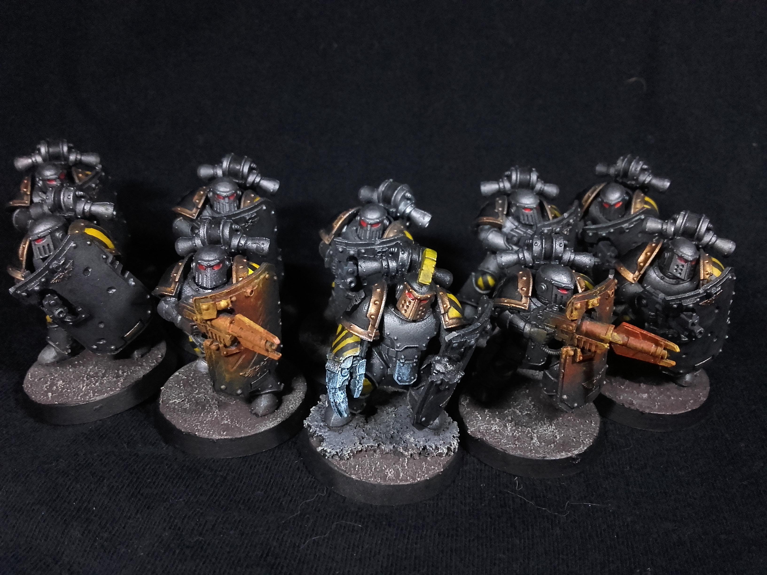 Iron Warriors Breachers from 30K - Squad 1