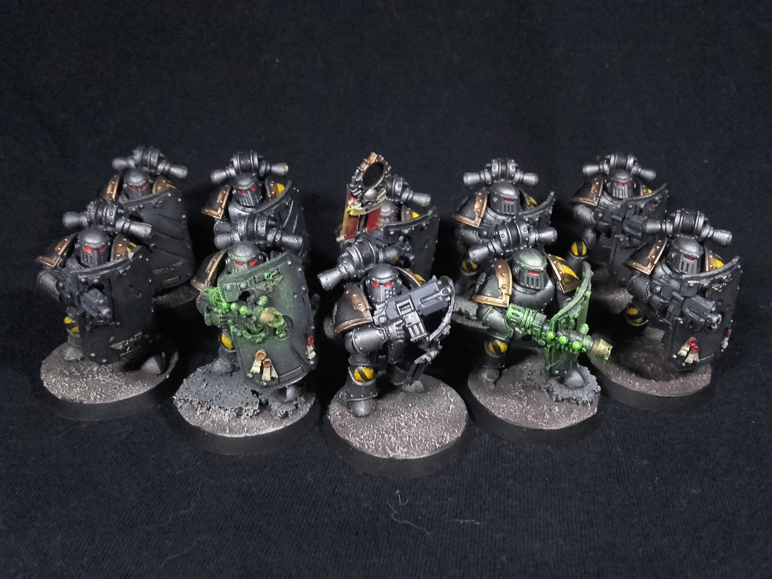 Iron Warriors Breachers from 30K - Squad 2