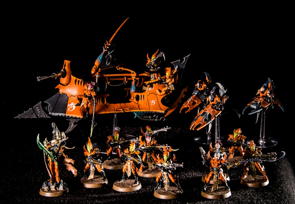 Drukhari start collecting box