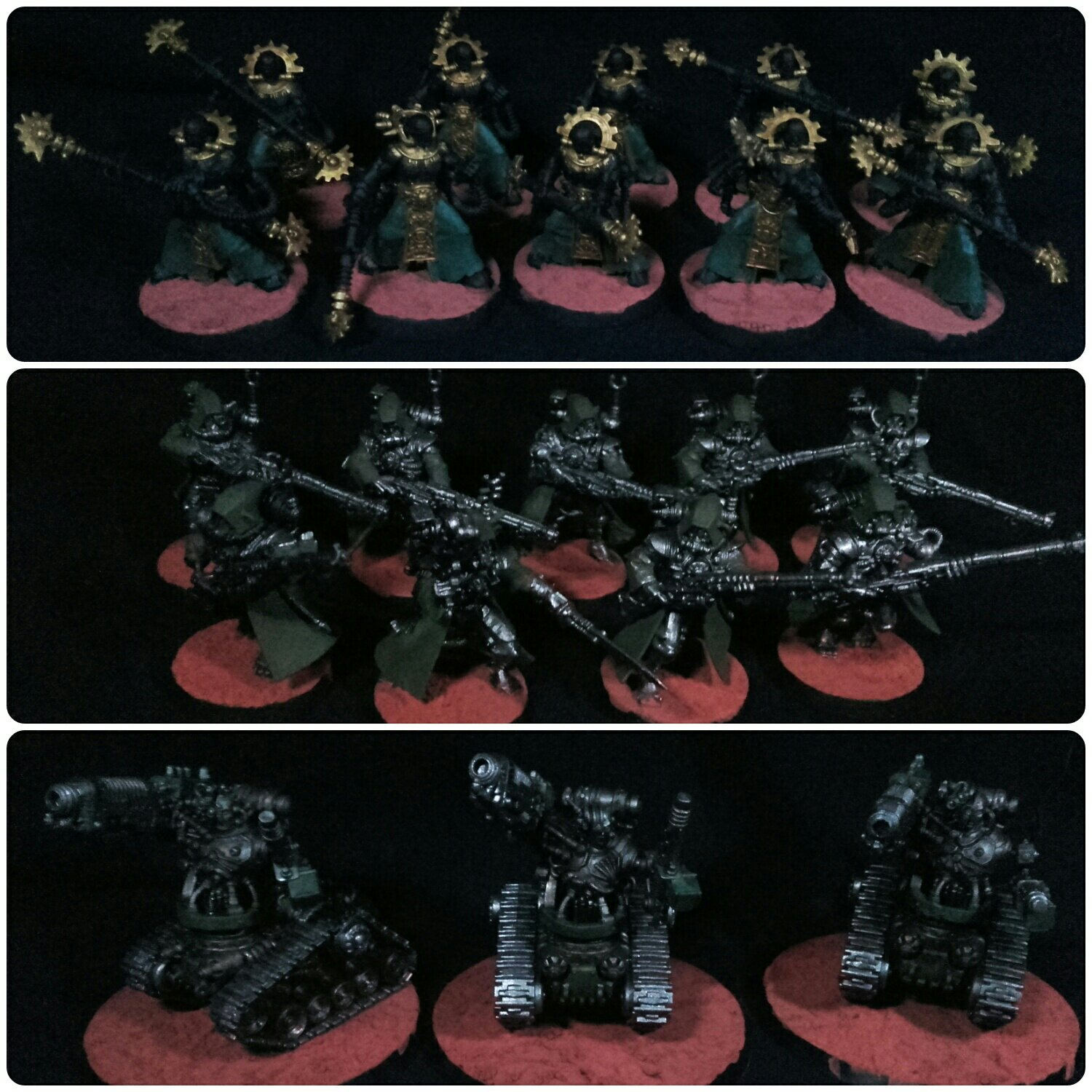 AdMech Rangers and Destroyers