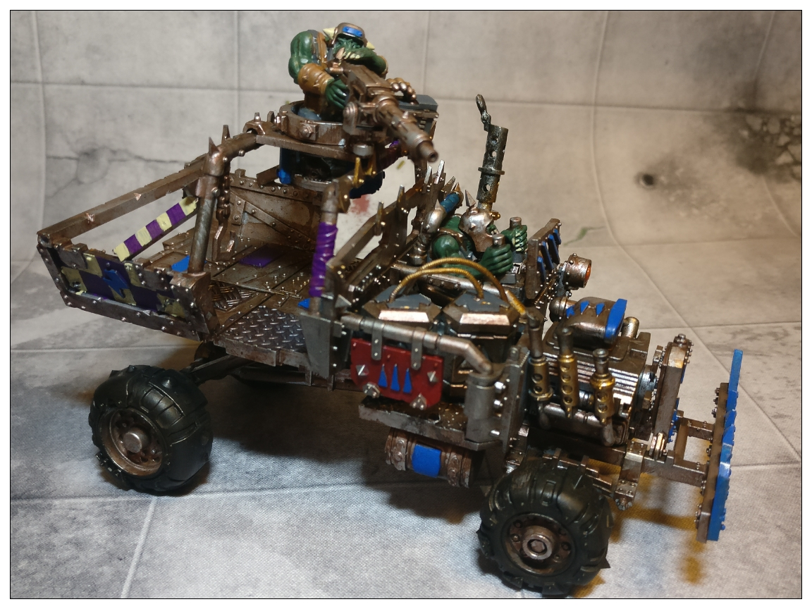 Ork Trukk conversion