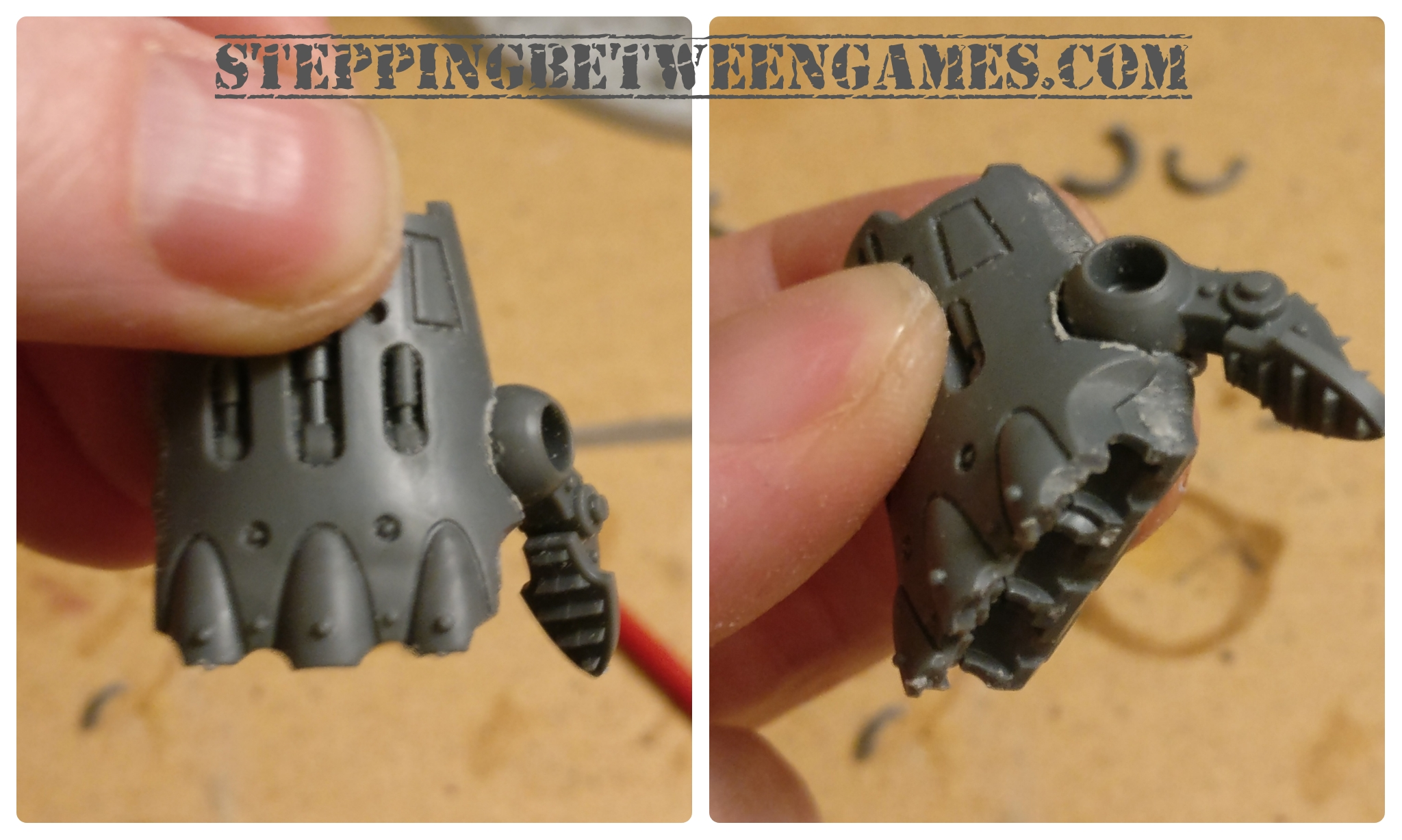 Thunderstrike gauntlet right hand conversion - thumb inserted