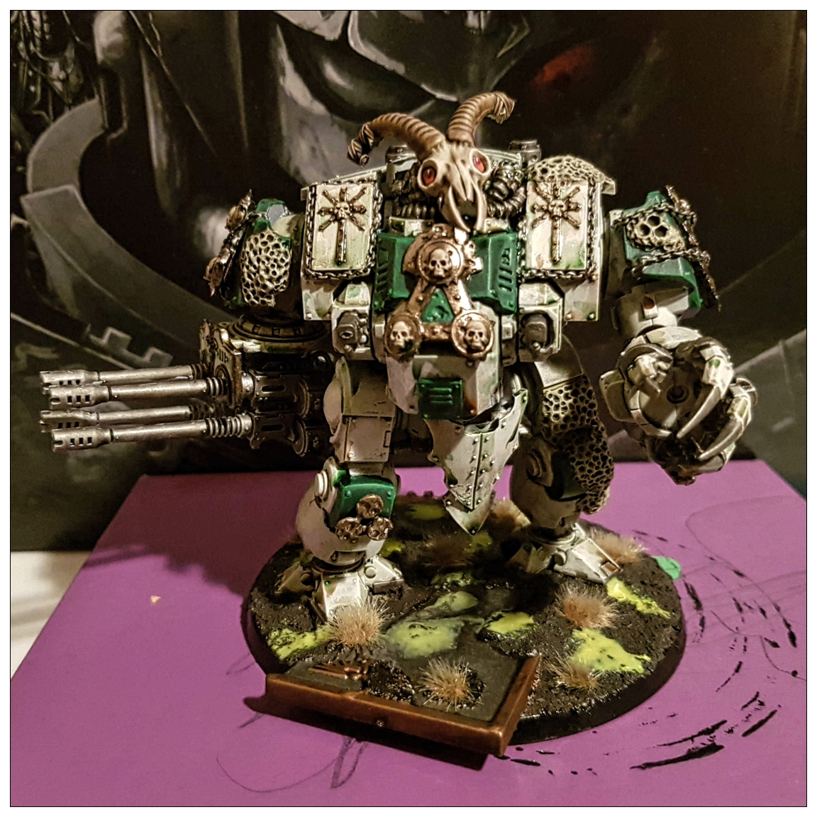 Warhammer 40k death guard Leviathan